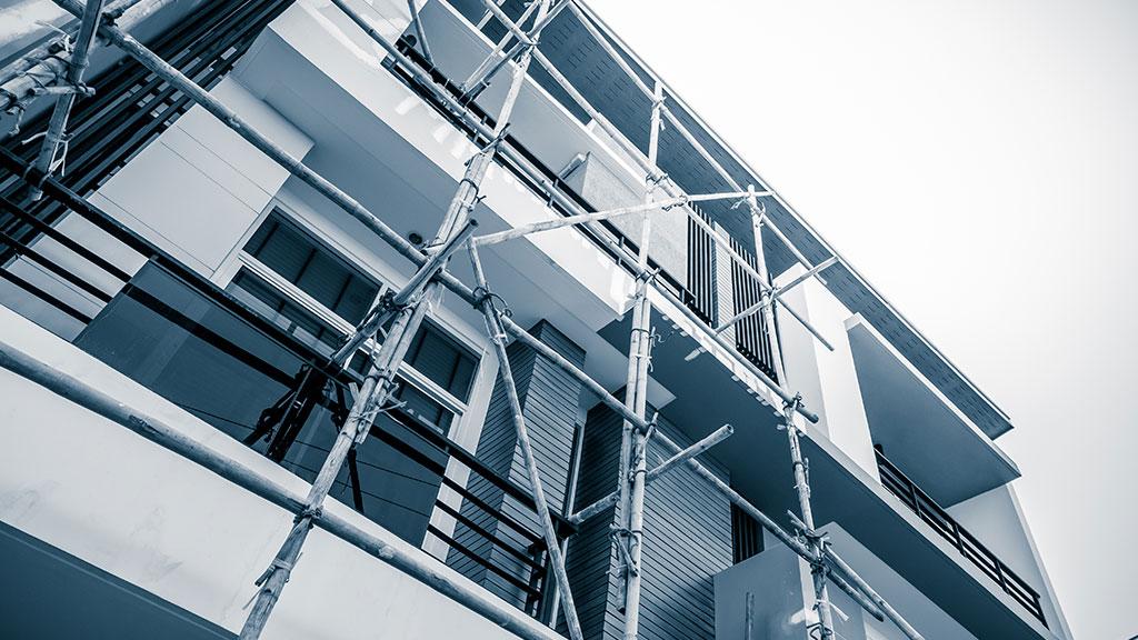 réparation d'une façade
